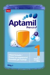 Aptamil Адаптирано бебешко мляко  1 PRONUTRA+  /Пронутра+/  800 гр.